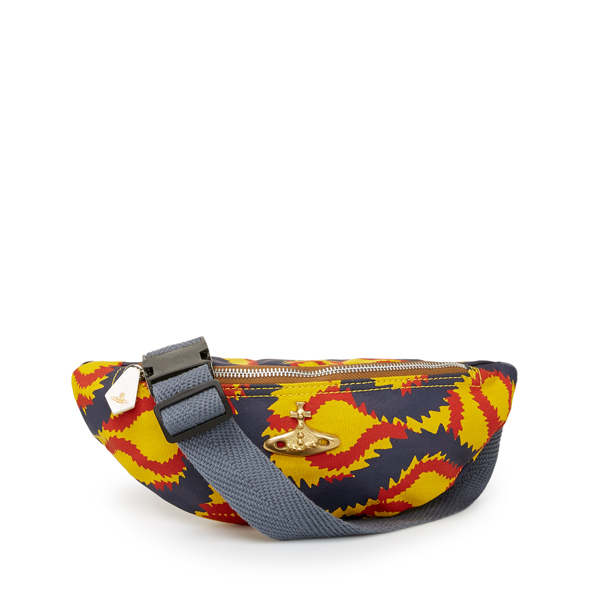 Men Vivienne Westwood SQUIGGLE BUM BAG Outlet Online