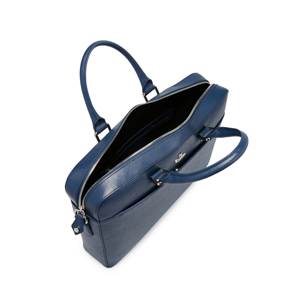 Men Vivienne Westwood KENT DOCUMENT CASE 131182 BLUE Outlet Online