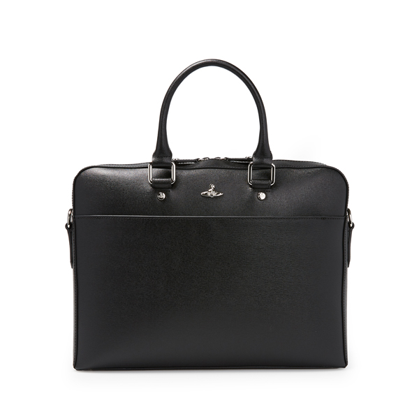 Men Vivienne Westwood KENT DOCUMENT CASE 131182 BLACK Outlet Online