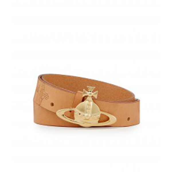 Men Vivienne Westwood BROWN ORB BELT 6188 Outlet Online