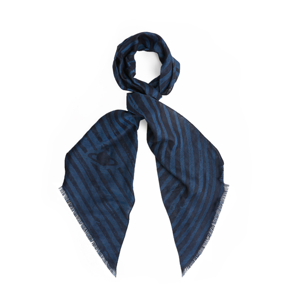 Men Vivienne Westwood POINTED SCARF BLUE Outlet Online