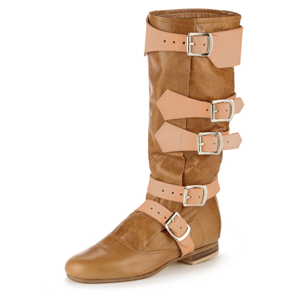 Men Vivienne Westwood PIRATE BOOT TAN Outlet Online