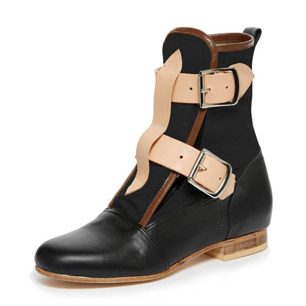 Men Vivienne Westwood SEDITIONARIES BOOT BLACK Outlet Online