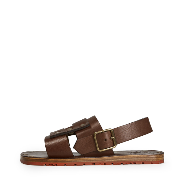 Men Vivienne Westwood APOLLO SANDALS DARK BROWN Outlet Online