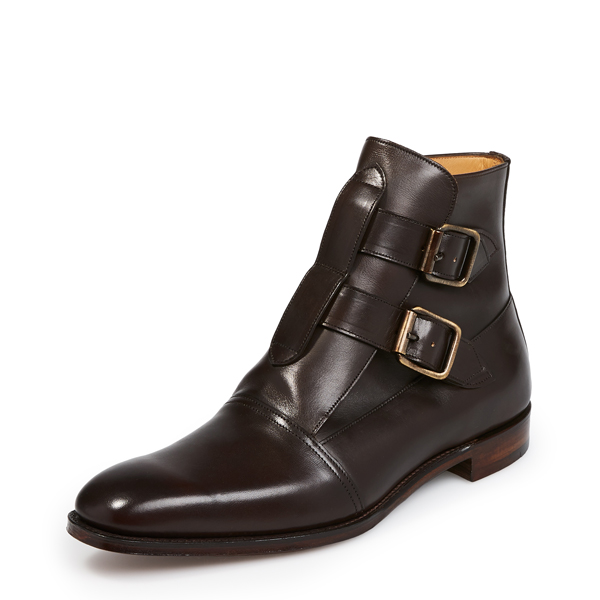 Men Vivienne Westwood JOSEPH CHEANEY & SON SEDITIONARY DRESS BOOTS MOCHA Outlet Online