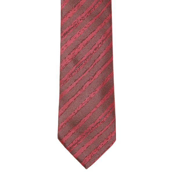 Men Vivienne Westwood STRIPED RED JACQUARD TIE Outlet Online