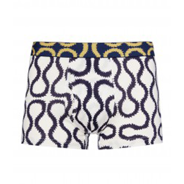 Men Vivienne Westwood BLUE SQUIGGLE BOXER SHORTS Outlet Online
