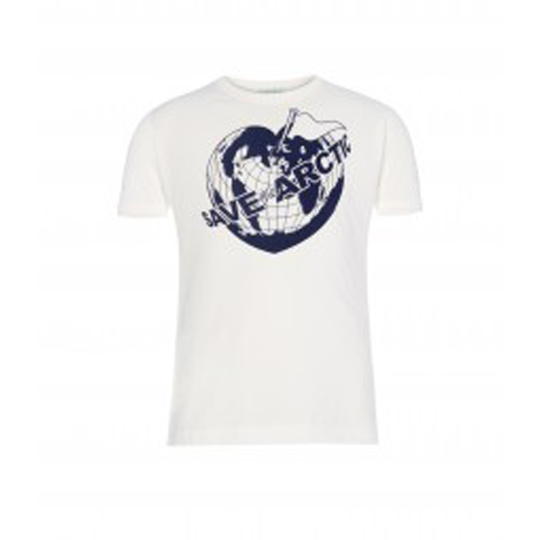 Men Vivienne Westwood CHILDS SAVE THE ARCTIC T-SHIRT Outlet Online