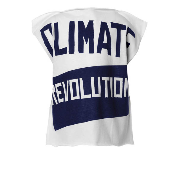 Men Vivienne Westwood CHILDS SQUARE CLIMATE REVOLUTION T-SHIRT Outlet Online