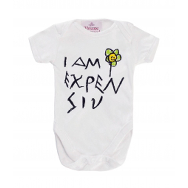 Men Vivienne Westwood I AM EXPENSIV BABY GROW Outlet Online