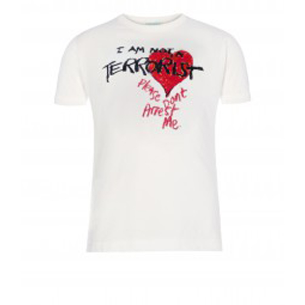 Men Vivienne Westwood CHILDS I AM NOT A TERRORIST T-SHIRT Outlet Online