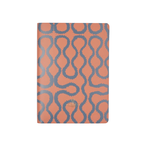 Men Vivienne Westwood A4 CORAL SQUIGGLE NOTEBOOK Outlet Online