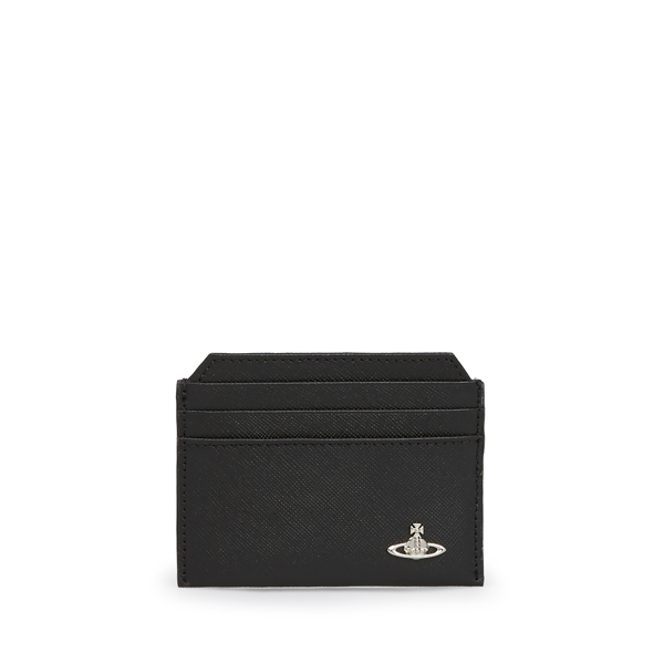 Men Vivienne Westwood KENT NEW CREDIT CARD HOLDER 33366 BLACK Outlet Online