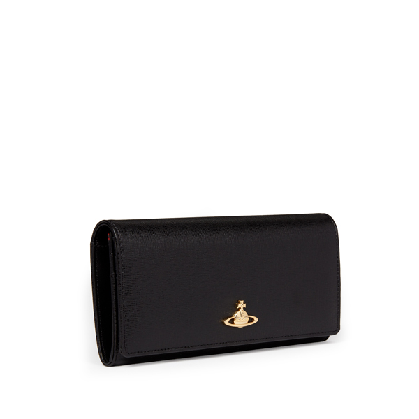 Men Vivienne Westwood BLACK SAFFIANO 2800 PURSE Outlet Online