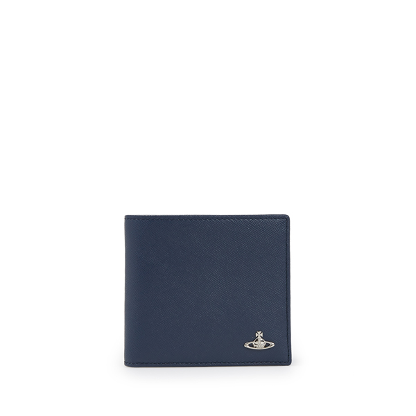 Men Vivienne Westwood KENT WALLET 33364 BLUE Outlet Online