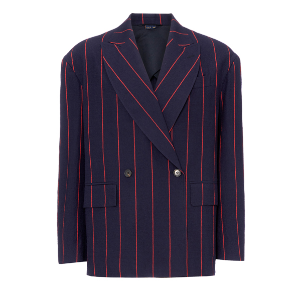 Men Vivienne Westwood BLOUSON RELAXED JACKET NAVY Outlet Online