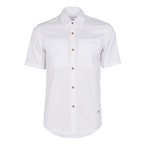 Men Vivienne Westwood RATTLE SHIRT WHITE Outlet Online