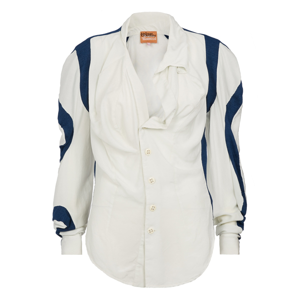 Men Vivienne Westwood OFF WHITE MEDUSA BLOUSE Outlet Online