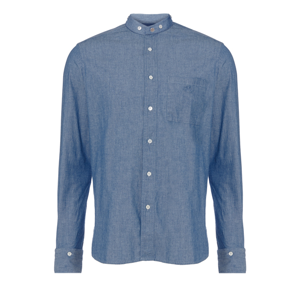 Men Vivienne Westwood BLUE DETACHABLE DETAILS SHIRT Outlet Online