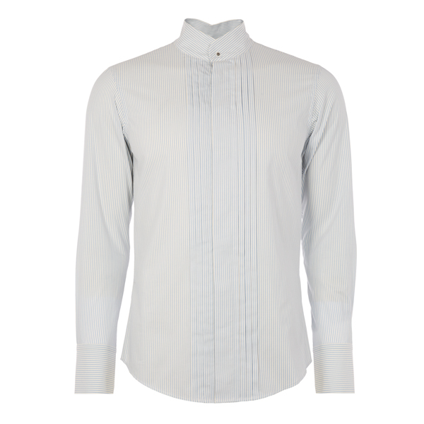 Men Vivienne Westwood KRALL DRESS SHIRT BLUE Outlet Online