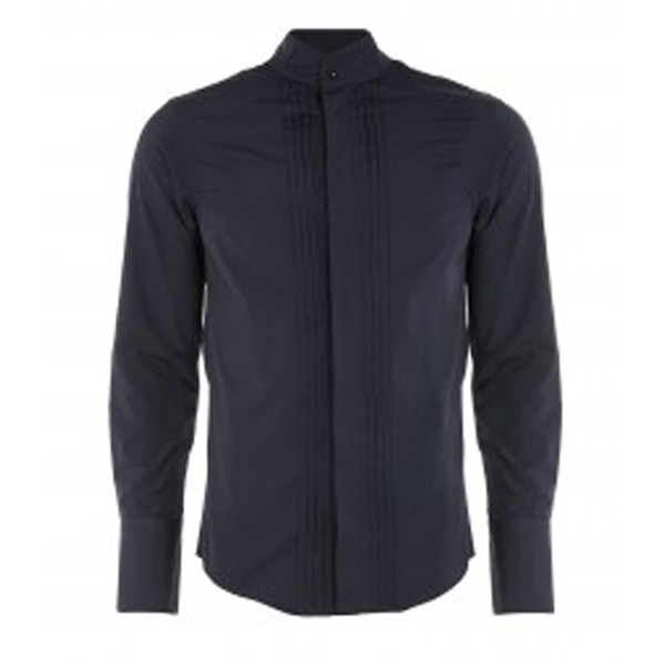 Men Vivienne Westwood KRALL DRESS SHIRT NAVY Outlet Online
