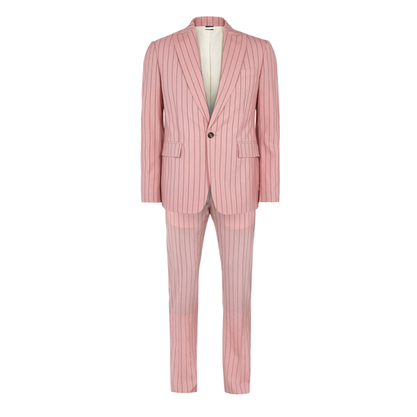 Men Vivienne Westwood JAMES SUIT PINK Outlet Online