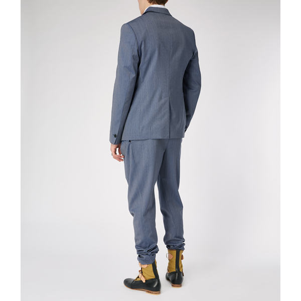 Men Vivienne Westwood ALCOHOLIC TROUSERS BLUE Outlet Online