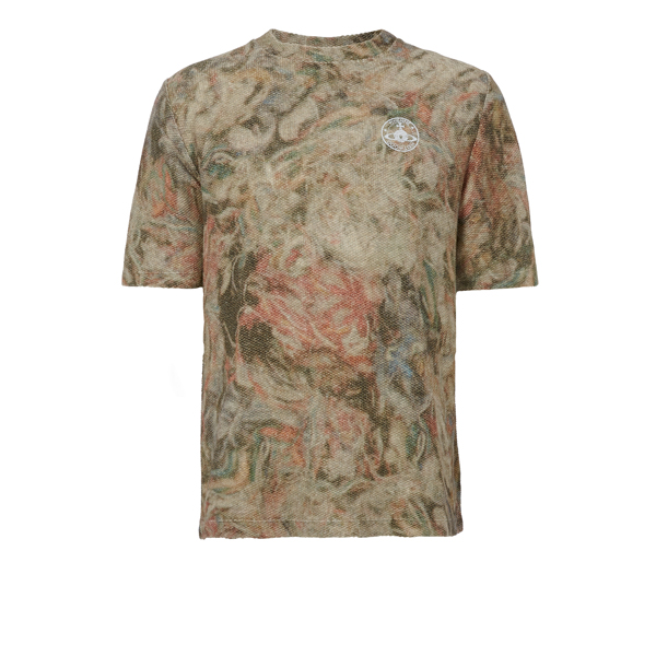 Men Vivienne Westwood MILITARY MESS T-SHIRT BEIGE Outlet Online
