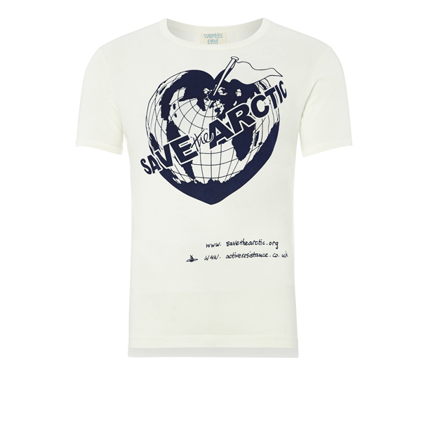 Men Vivienne Westwood SAVE THE ARCTIC T-SHIRT Outlet Online
