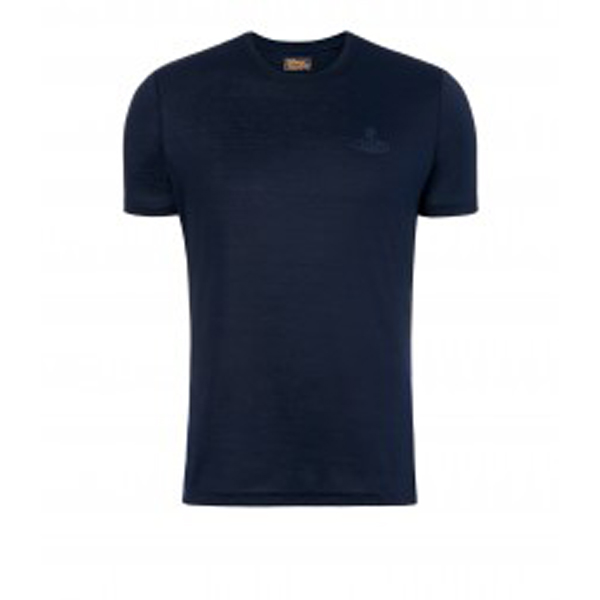 Men Vivienne Westwood NAVY T-SHIRT Outlet Online