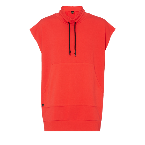 Men Vivienne Westwood RED CUT OUT VEST SPRAY ORB Outlet Online