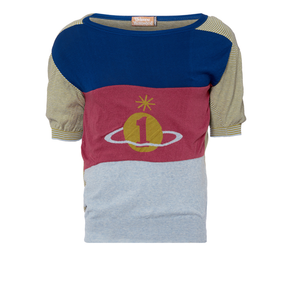 Men Vivienne Westwood ORB SWEATER MULTI Outlet Online