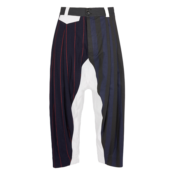 Men Vivienne Westwood MACCA PANTS NAVY Outlet Online