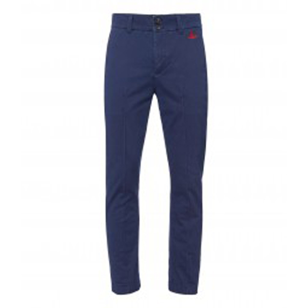 Men Vivienne Westwood BLUE CLASSIC CHINOS Outlet Online