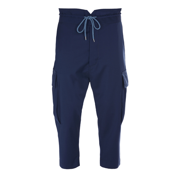 Men Vivienne Westwood SAMURAI TROUSERS NAVY Outlet Online