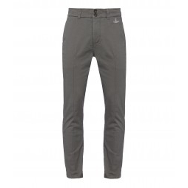 Men Vivienne Westwood GREY CLASSIC CHINOS Outlet Online