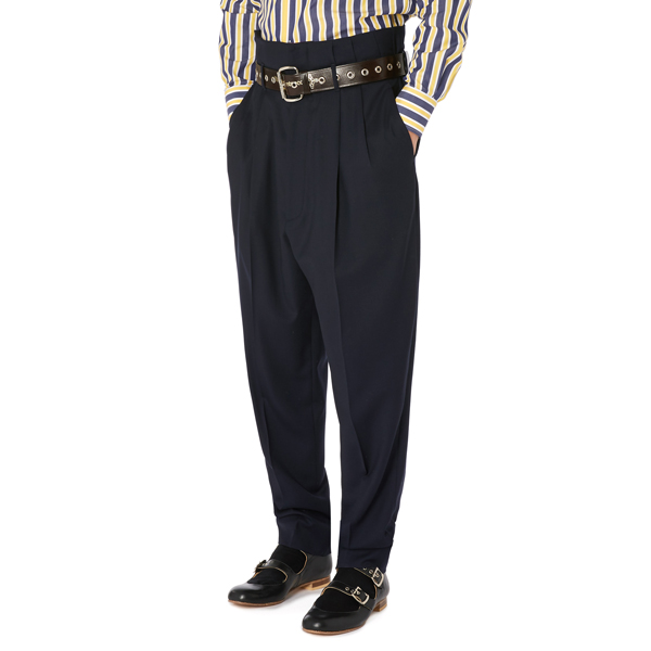 Men Vivienne Westwood ZOOT TROUSERS NAVY Outlet Online