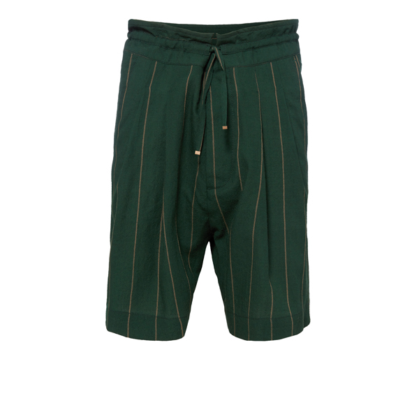 Men Vivienne Westwood JERSEY SAMURAI SHORTS GREEN Outlet Online
