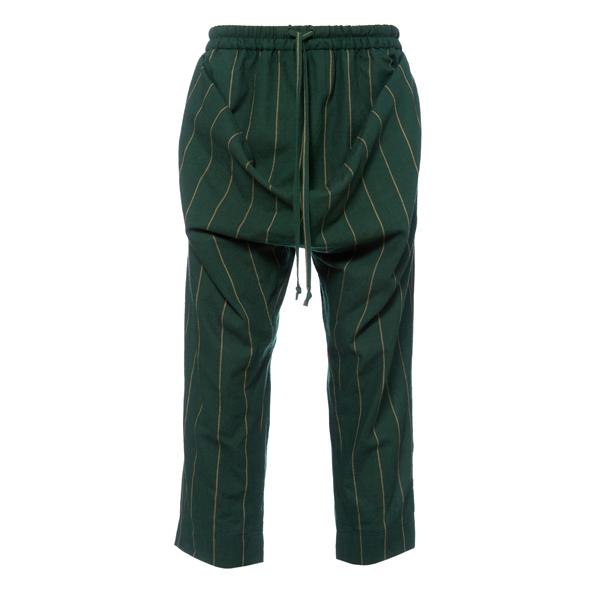 Men Vivienne Westwood TILKE TROUSERS GREEN Outlet Online