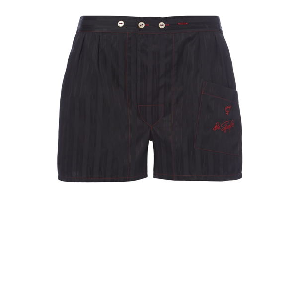 Men Vivienne Westwood BLACK HERMES BOXER SHORTS Outlet Online