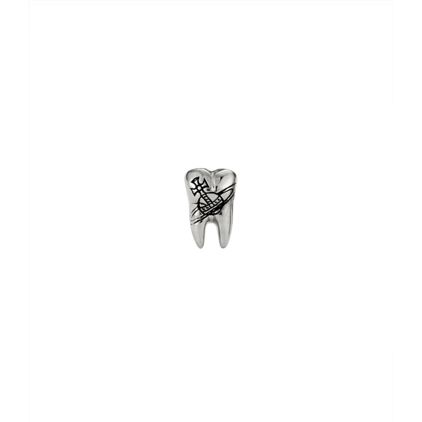 Men Vivienne Westwood BLAKE SINGLE STUD SILVER Outlet Online