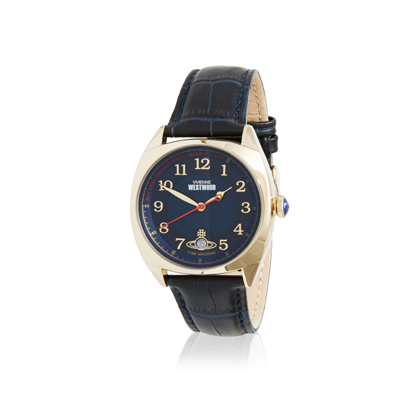 Men Vivienne Westwood HAMPSTEAD WATCH BLUE/GOLD Outlet Online