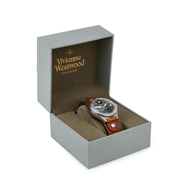 Men Vivienne Westwood BROWN SMITHFIELD WATCH Outlet Online