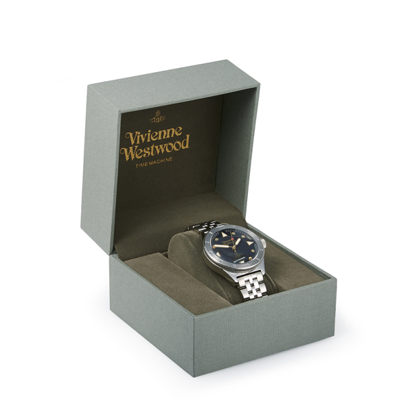 Men Vivienne Westwood BLACK SMITHFIELD WATCH Outlet Online
