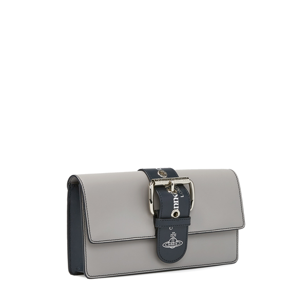 Women Vivienne Westwood ALEX CLUTCH BAG 131138 GREY Outlet Online