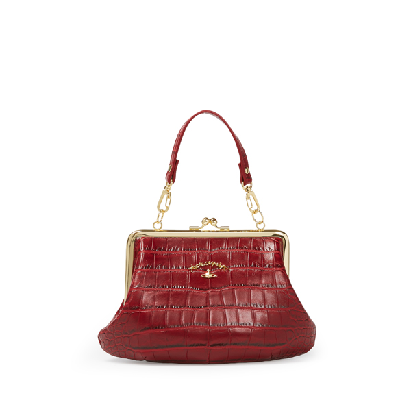 Women Vivienne Westwood SMALL DORSET BAG 3655 RED Outlet Online