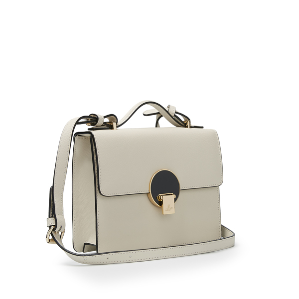 Women Vivienne Westwood SMALL OPIO SAFFIANO SHOULDER BAG 131131 BEIGE Outlet Online