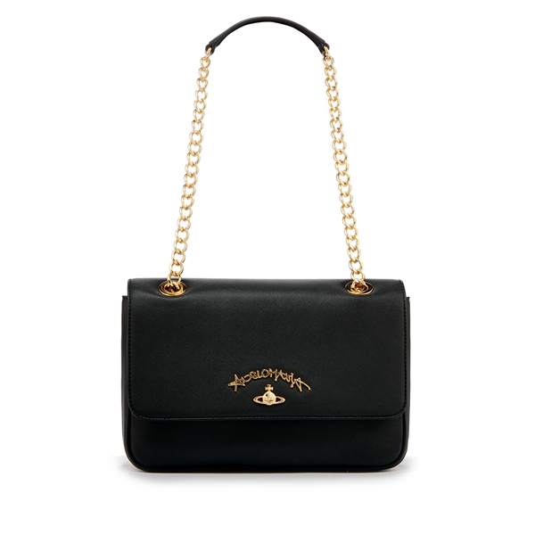 Women Vivienne Westwood DIVINA BAG 7065 BLACK Outlet Online