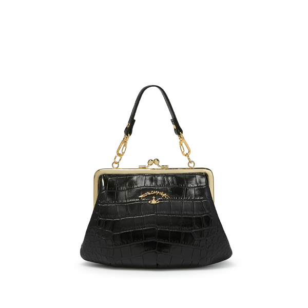 Women Vivienne Westwood SMALL DORSET BAG 3655 BLACK Outlet Online