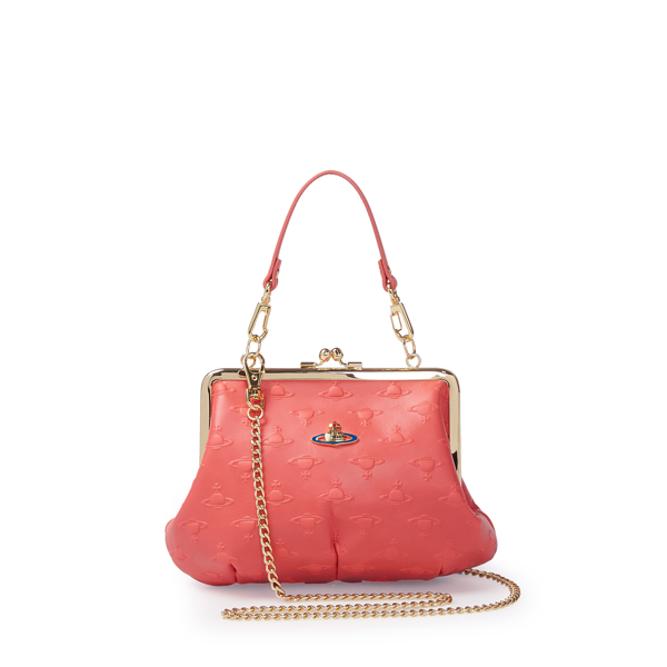 Women Vivienne Westwood SMALL ORBS BAG 3655 RED Outlet Online
